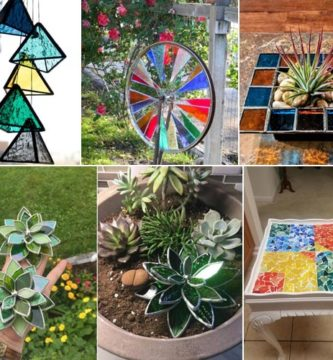 15 Stunning DIY Stained Glass Projects for Your Home & Garden