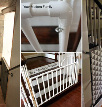 15 DIY Baby Gate Plans to keep Your Children Safe