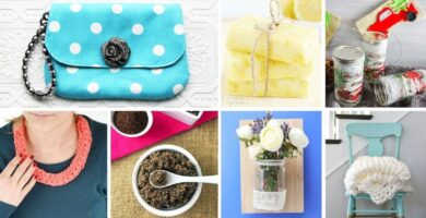 DIY gift ideas for women collage